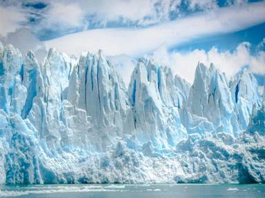 The danger of disappearance of many glaciers in 10 years