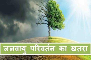 जलवायु परिवर्तन का खतरा
