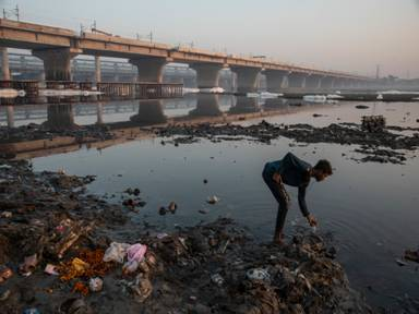 Asia's rivers are facing severe climate crisis