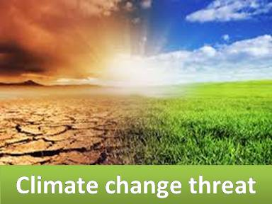 Climate change threat